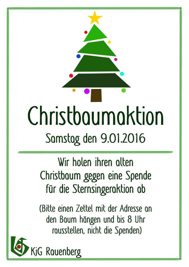 Christbaumplakat2016